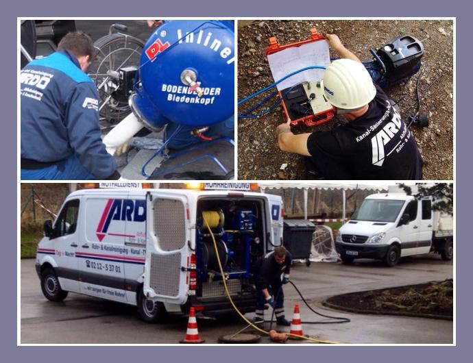 ARDO Abflussreinigung Notdienst Solingen, Bonn, Düsseldorf, Essen